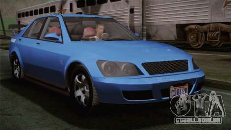 GTA 5 Karin Sultan IVF para GTA San Andreas