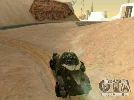 SdKfz.222 para GTA San Andreas vista direita
