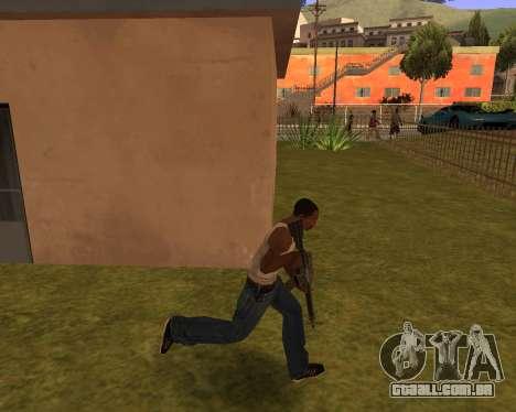 New Animation by EazyMo para GTA San Andreas terceira tela