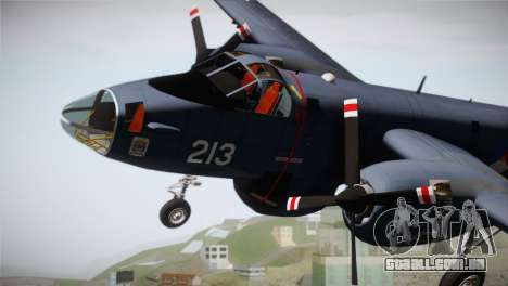 Lockheed P2V-7 Neptune MLD para GTA San Andreas vista direita