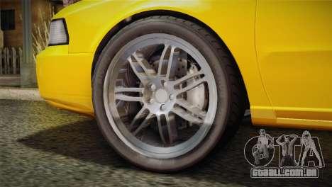 MP3 Fathom Lemanja LX para GTA San Andreas traseira esquerda vista