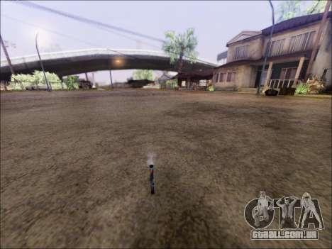 O Lançamento De Fogos De Artifício para GTA San Andreas segunda tela
