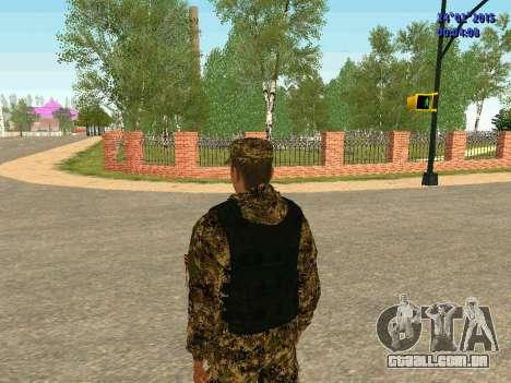 Setas milícia DND para GTA San Andreas por diante tela