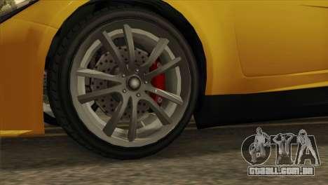 GTA 5 Coil Voltic v2 SA Mobile para GTA San Andreas traseira esquerda vista