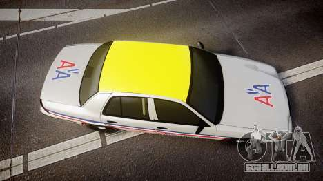 Ford Crown Victoria 2007 American Airlines para GTA 4 vista direita