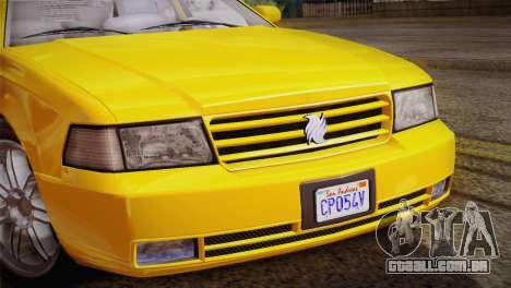 MP3 Fathom Lemanja LX para GTA San Andreas vista traseira