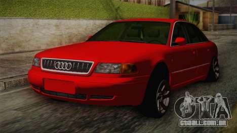 Audi A8 2000 para GTA San Andreas
