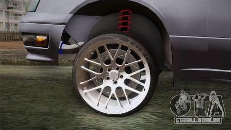 Nissan Cedric para GTA San Andreas traseira esquerda vista