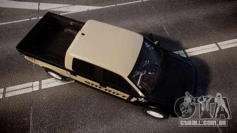 Ford F150 Liberty County Sheriff [ELS] Slicktop para GTA 4 vista direita