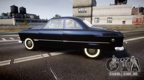 Ford Custom Club 1949 v2.1 para GTA 4 esquerda vista