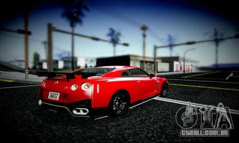Blacks Med ENB para GTA San Andreas segunda tela