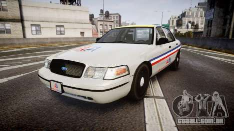 Ford Crown Victoria 2007 American Airlines para GTA 4