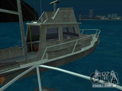 Reefer из GTA 3 para GTA San Andreas vista traseira