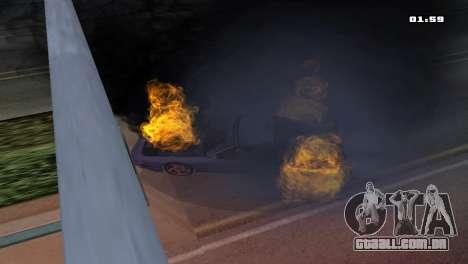 Burning Car para GTA San Andreas segunda tela