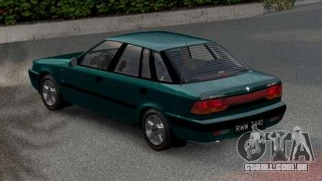 Daewoo Espero 2.0 CD 1996 para GTA 4 esquerda vista