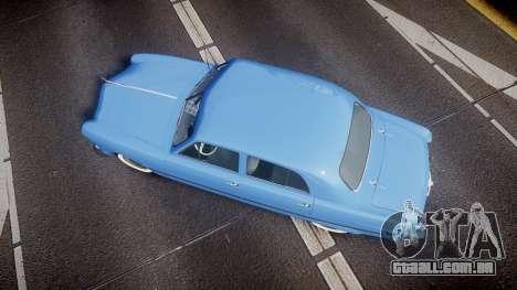 Ford Custom Fordor 1949 v2.1 para GTA 4 vista direita