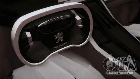 Peugeot Onyx para GTA San Andreas vista traseira