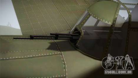 ИЛ-10 Força Aérea Chinesa para GTA San Andreas vista direita