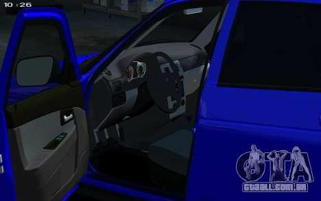 Lada 2172 2012 para GTA 4 vista direita