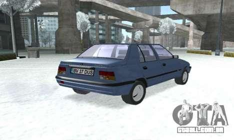 Dacia Super Nova para GTA San Andreas esquerda vista