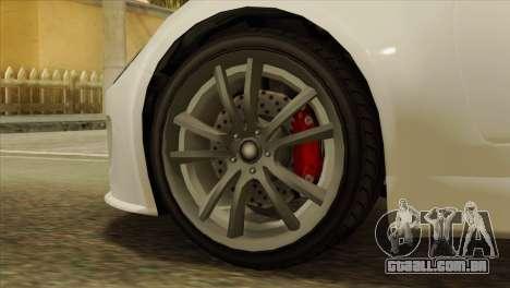 GTA 5 Coil Voltic v2 IVF para GTA San Andreas traseira esquerda vista