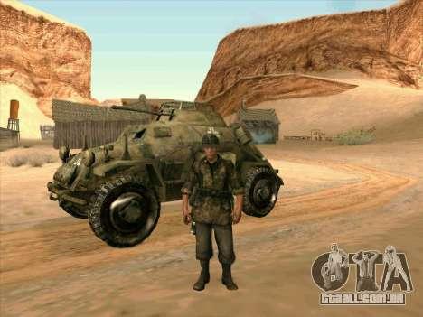 SdKfz.222 para GTA San Andreas