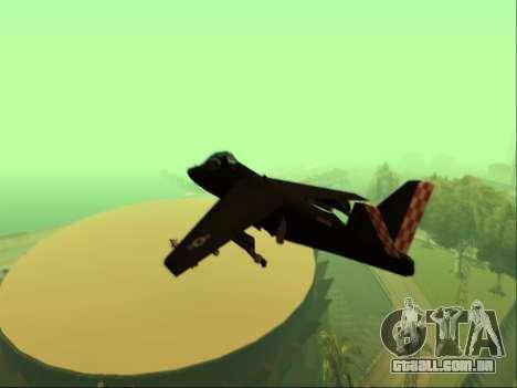 McDonnell Douglas AV-8B Harrier II Beta para GTA San Andreas vista traseira