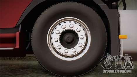Volvo FH 420 para GTA San Andreas traseira esquerda vista