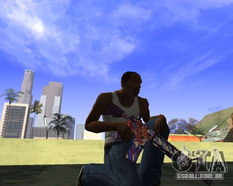 Skins Weapon pack CS:GO para GTA San Andreas quinto tela