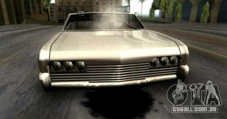 O vazamento de óleo para GTA San Andreas terceira tela