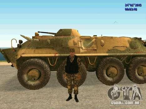 Setas milícia DND para GTA San Andreas sexta tela