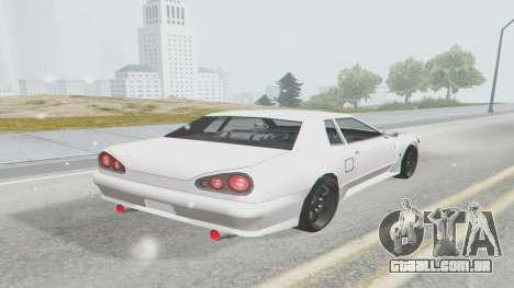 Elegy Facelift S15 para GTA San Andreas esquerda vista