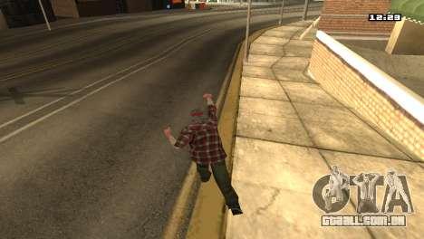 Misto de estilos de luta para GTA San Andreas