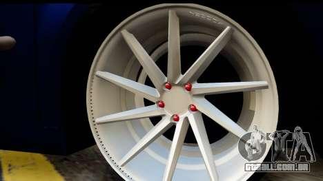 Volkswagen Caddy v1 para GTA San Andreas vista direita