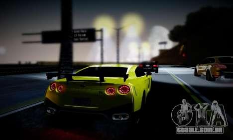 Blacks Med ENB para GTA San Andreas twelth tela