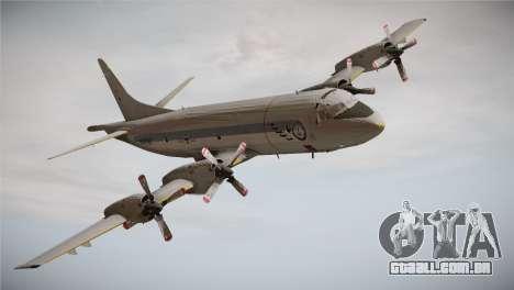 German Navy P-3C Orion MFG 3 50th Anniversary para GTA San Andreas traseira esquerda vista