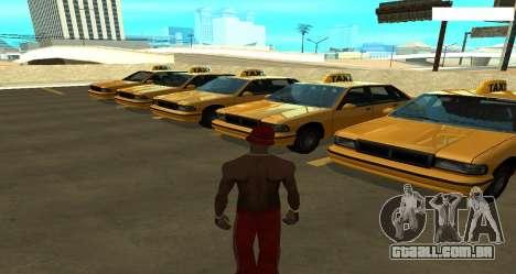 ENB Reflexões sobre carros para GTA San Andreas por diante tela