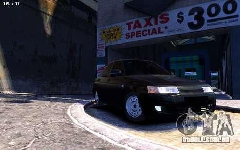 Lada 2110 para GTA 4 vista direita
