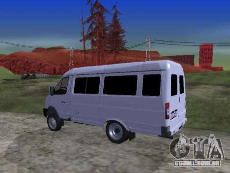 GAZ 2705 para vista lateral GTA San Andreas