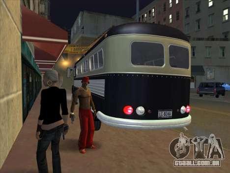 Ônibus из GTA 3 para GTA San Andreas vista traseira
