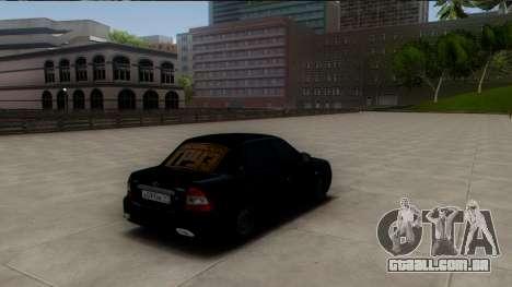 VAZ 2170 Cáspio Carga para GTA San Andreas traseira esquerda vista