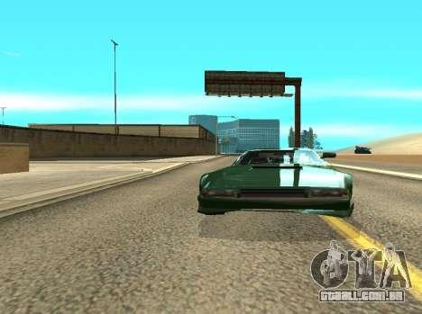 ENB Reflexões sobre carros para GTA San Andreas segunda tela