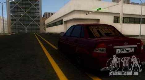 VAZ 2170 Cáspio Carga para GTA San Andreas vista direita