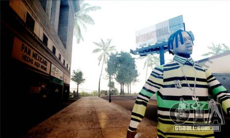 S-Shader Final Edition para GTA San Andreas por diante tela