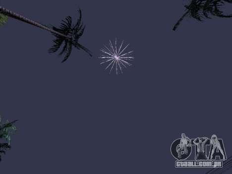 O Lançamento De Fogos De Artifício para GTA San Andreas