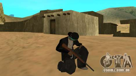 Standard HD Weapon Pack para GTA San Andreas quinto tela