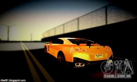 Blacks Med ENB para GTA San Andreas décimo tela