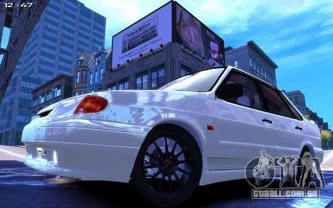 Lada 2115 para GTA 4 traseira esquerda vista