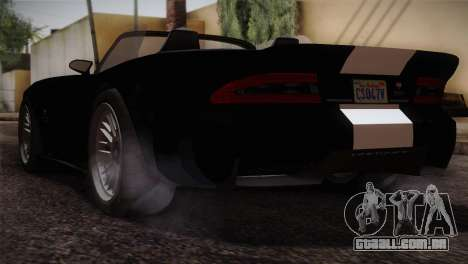 GTA 5 Invetero Coquette v2 IVF para GTA San Andreas esquerda vista