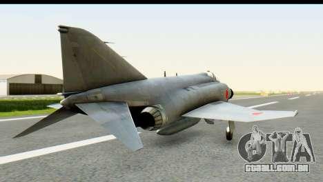 F-4EJ Mitsubishi Heavy Industries para GTA San Andreas esquerda vista